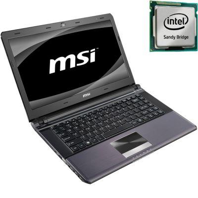 Ноутбук MSI X-Slim X460-278 Black