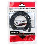 Кабель Sven HDMI 19M-19M V1.3 Flat, 1.8M (00134)