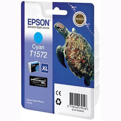 Картридж Epson Cyan /Зеленовато - голубой (C13T15724010)