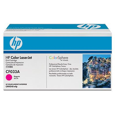 ��������� �������� HP clj CM4540MFP Contract Magenta Print Cart CF033AC