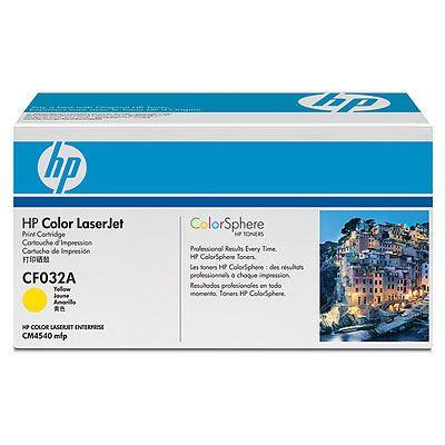 Расходный материал HP clj CM4540MFP Contract Yellow Print Cart CF032AC