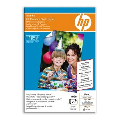 ��������� �������� HP Premium Glossy Photo Paper 230 g/m?-10 x 15 cm plus tab/20 sht Q1991A