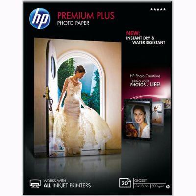 Расходный материал HP Premium Plus Glossy Photo Paper-20 sht/13 x 18 cm CR676A