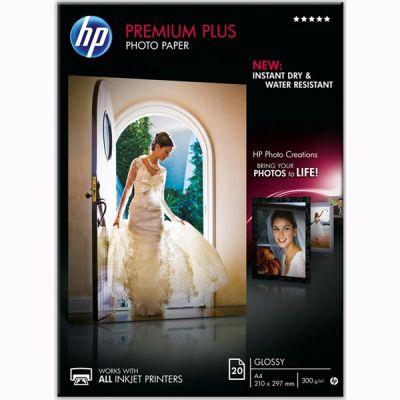 Расходный материал HP Premium Plus Glossy Photo Paper-20 sht/A4/210 x 297 mm CR672A