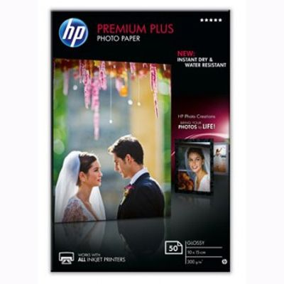 Расходный материал HP Premium Plus Glossy Photo Paper-50 sht/10 x 15 cm CR695A