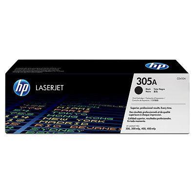 Тонер-картридж HP 305A Black/Черный (CE410A)