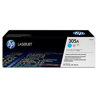 Тонер-картридж HP 305A Cyan/Голубой (CE411A)