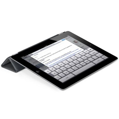 Чехол Apple iPad Smart Cover Polyurethane (Dark Gray) MD306ZM/A
