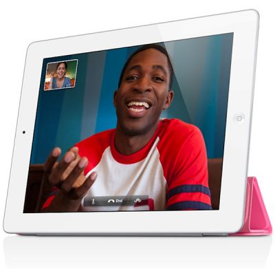 Чехол Apple iPad Smart Cover Polyurethane (Pink) MD308ZM/A