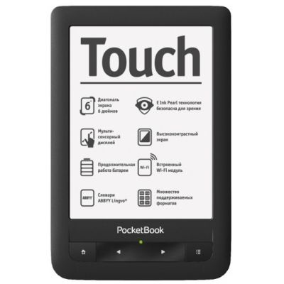 ����������� ����� PocketBook Touch Pro 622 Black (PB622-E)