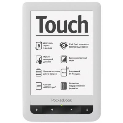 Электронная книга PocketBook Touch Pro 622 Black/White (PB622-D)