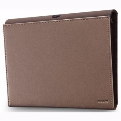 Чехол Sony тонкий из натуральной кожи для Sony Tablet S SGP-CV1/T