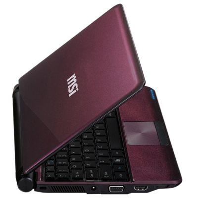 Ноутбук MSI Wind U180-061 Purple