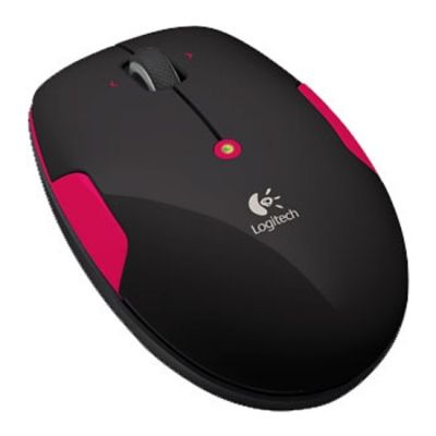 ���� ������������ Logitech Wireless Mouse M345 Fire Red USB 910-002591