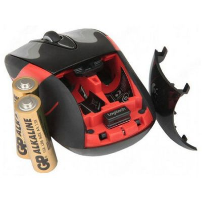 Мышь беспроводная Logitech Wireless Mouse M525 Black USB 910-002584