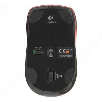 ���� ������������ Logitech Wireless Mouse M525 Black USB 910-002584