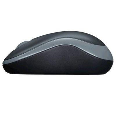 Мышь беспроводная Logitech Wireless Mouse M185 Swift Grey USB 910-002238