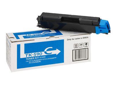 Расходный материал Kyocera Toner-картридж Kyocera ( Cyan / голубой ) TK-590C