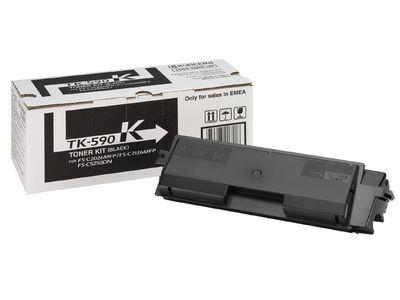 Тонер-картридж Kyocera Black/Черный (TK-590K)