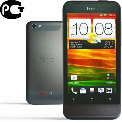 Смартфон, HTC One V Grey