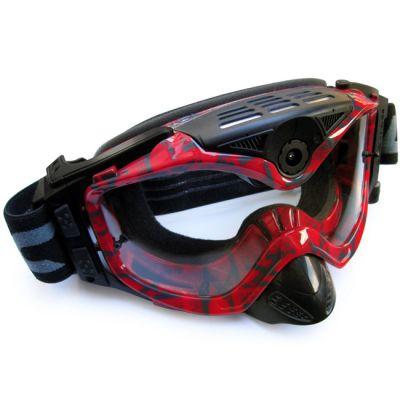 Liquid Image ��������������� �����-����� LIC367R Impact Series Offroad Goggle Cam (Red) full HD 1080p