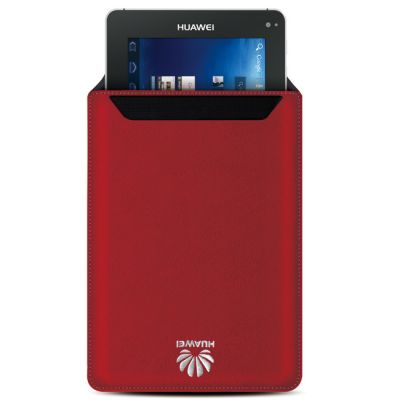 ����� Huawei ��� MediaPad Microfiber Case Folding Red