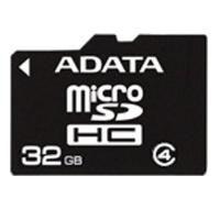 Карта памяти ADATA 32GB microSDHC Class 4 AUSDH32GCL4-R