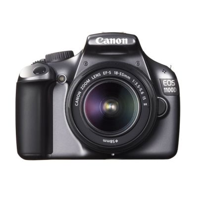 Зеркальный фотоаппарат Canon eos 1100D Kit 18-55 is II Gray (ГТ Canon)