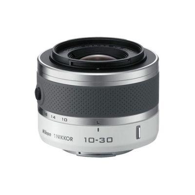 Зеркальный фотоаппарат Nikon 1 J1 Kit 10-30 мм f/3.5-5.6 vr Silver (ГТ Nikon)
