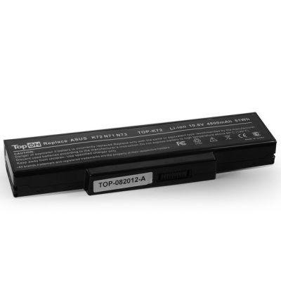 Аккумулятор TopON для Asus K72 N71 N73 X72 F2 F3 A9 Series 4400mah TOP-K72