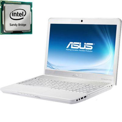 Ноутбук ASUS N55SL White 90N1OC548W3253VD13AU