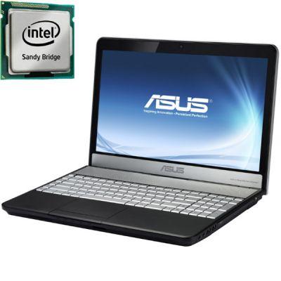 Ноутбук ASUS N55SL Black 90N1OC538W3552VD13AU