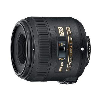 Объектив для фотоаппарата Nikon 40mm f/2.8G AF-S dx Micro Nikor (ГТ Nikon)