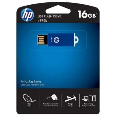 Флешка HP 16Gb V195B FDU16GBHPV195B-EF