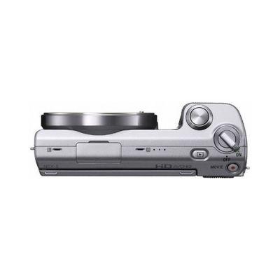 Зеркальный фотоаппарат Sony Alpha NEX-5A Kit 16 mm /2.8 Silver (ГТ Sony)
