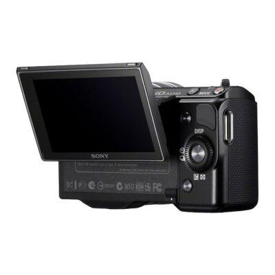 Зеркальный фотоаппарат Sony Alpha NEX-5NK Kit 18-55 mm Black (ГТ Sony)