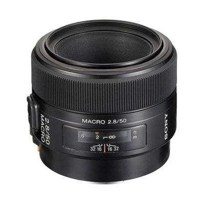 Объектив для фотоаппарата Sony 50 mm f/2.8 Macro (ГТ Sony) SAL-50M28