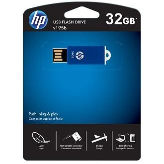 Флешка HP 32Gb V195B FDU32GBHPV195B-EF