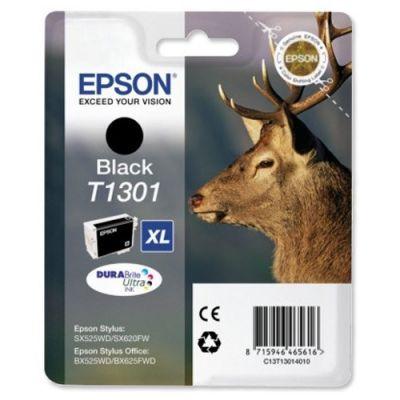 Картридж Epson T1301 Black/Черный (C13T13014010)