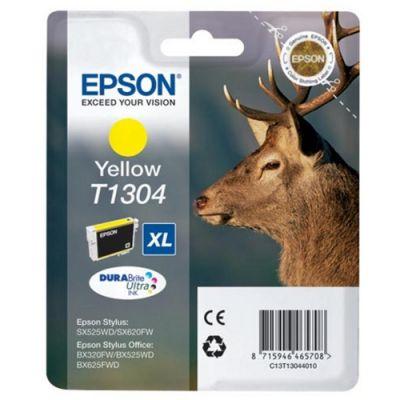 Картридж Epson T1304 Yellow/Желтый (C13T13044010)