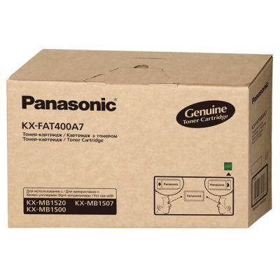 Тонер-картридж Panasonic Black/Черный (KX-FAT400A7)