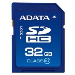 Карта памяти ADATA 32GB sdhc Class 10 ASDH32GCL10-R
