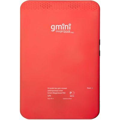 Электронная книга Gmini MagicBook P60 Red 00000000426