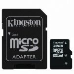 Карта памяти Kingston 32GB microSDHC Class 4 SDC4/32GB