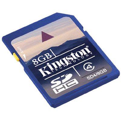 ����� ������ Kingston 8GB sdhc Class 4 SD4/8GB