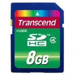 ����� ������ Transcend 8GB sdhc Class 4 TS8GSDHC4