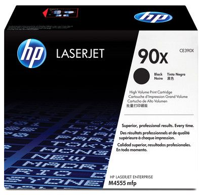Картридж HP Black/Черный (CE390X)