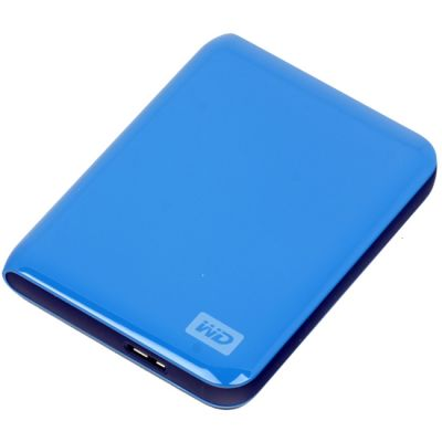 "Внешний жесткий диск Western Digital My Passport Essential 2.5"" 500Gb USB 3.0 Blue WDBADB5000ABL-EEUE"