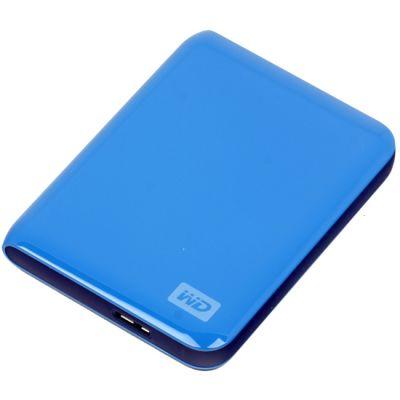 """������� ������� ���� Western Digital My Passport Essential 2.5"""" 500Gb USB 3.0 Blue WDBADB5000ABL-EEUE"""