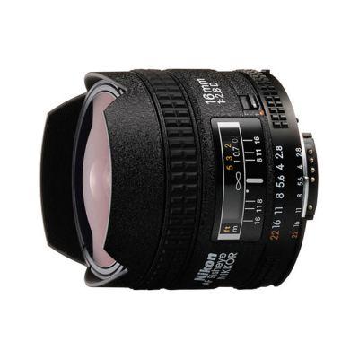 Объектив для фотоаппарата Nikon 16mm f/2.8D AF Fisheye-Nikkor Nikon F (ГТ Nikon)